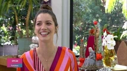 Nathalia Dill conta que se diverte com as maldades de Fabiana