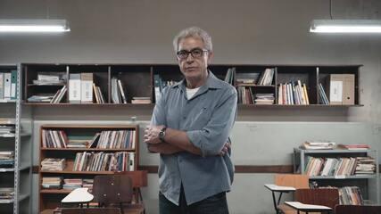 Jaci (Paulo Gorgulho) fala sobre o conflito com Léo (Leonardo Bittencourt)