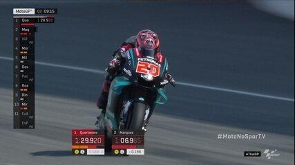 Quartararo se impõe e crava pole no GP de Motovelocidade na Tailândia