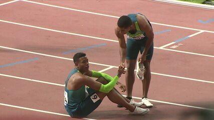 Estados Unidos vence e Brasil fica com o quarto lugar no 4x100m masculino