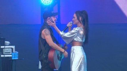 """Melim canta """"Meu Abrigo"""" no Rock in Rio"""