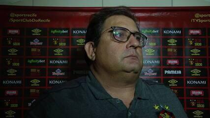 Guto Ferreira fala sobre empate do Sport contra o CRB
