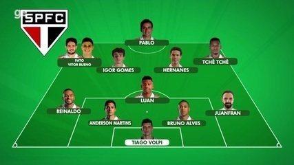 Veja como foi o treino desta terça e a escalação provável do São Paulo para o jogo contra o Bahia