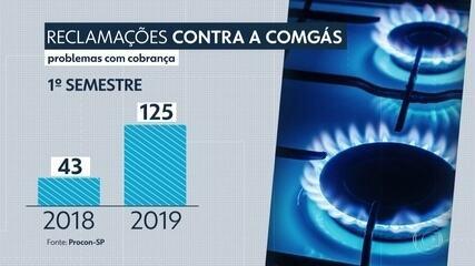 Consumidores reclamam da alta do preço do gás encanado