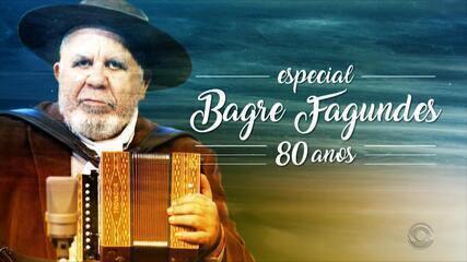 RBS TV homenageia os 80 anos de Bagre Fagundes neste sábado, às 08h