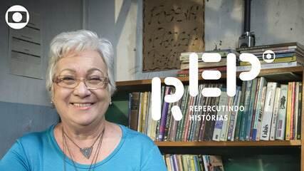 Repercutindo Histórias - Segunda Chamada: Dona Eda transforma vidas pela educação em escola .