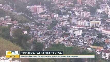 Menina levada de casa pelo tio é encontrada morta no Morro dos Prazeres