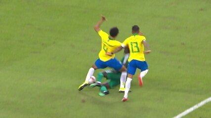 Veja os melhores momentos do empate entre Brasil e Senegal