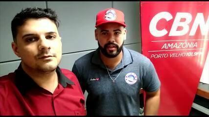 Juan Rodrigues entrevistou o técnico do Porto Velho sub-15, Michael Douglas