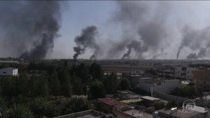 Curdos reagem e contra-atacam a Turquia na fronteira com a Síria