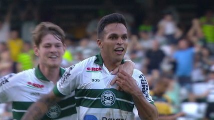 Gol de Coritiba 1 x 0 Criciúma pela rodada 28 do Brasileirão Série B