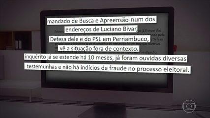 PF realiza buscas na casa de Luciano Bivar, deputado federal e presidente do PSL