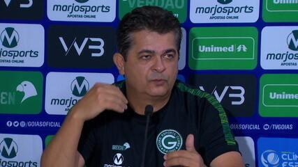 Confira a coletiva do Ney Franco após o empate do Goiás com o Corinthians
