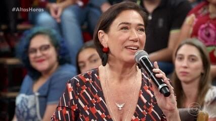 Lilia Cabral dá conselho aos jovens que querem seguir a carreira artística