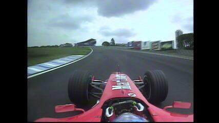 Volta onboard de Rubens Barrichello em Interlagos, em 2004