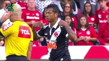 Confira os melhores lances de Fredy Guarín no segundo tempo de Inter e Vasco