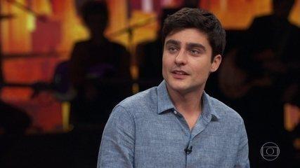 Guilherme Leicam lembra que sua primeira oportunidade na TV foi em uma novela de Walcyr