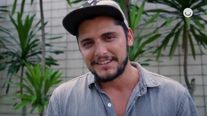 Bruno Gissoni fala sobre contracenar com a cunhada Agatha Moreira