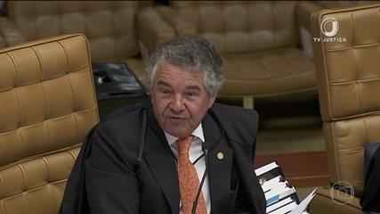 Ministro Marco Aurélio Mello vota contra a prisão de condenados em 2ª instância