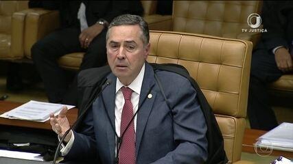Ministro Luís Roberto Barroso vota a favor da prisão de condenados em 2ª instância