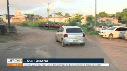 Caso Fabiana: Mulher que ficou bebê retirado da barriga da mãe é presa na capital