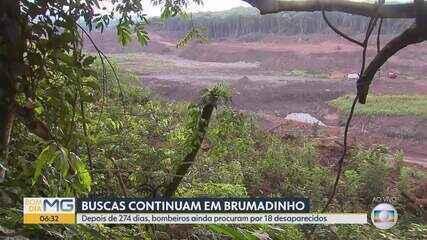 Nove meses após rompimento de barragem da Vale, buscas seguem por 18 desaparecidos