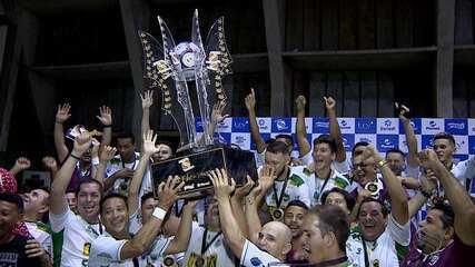 Lagarto derrota Itaporanga e é tricampeã da Copa TV Sergipe de Futsal