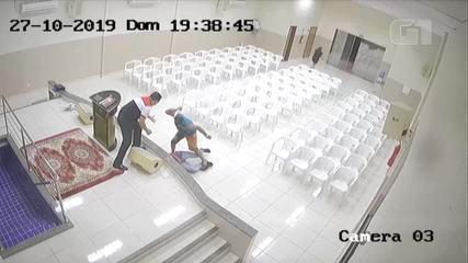 Vídeo mostra adolescente sendo assassinado dentro de igreja evangélica em Palmas
