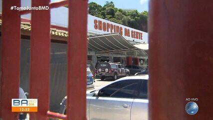 PM é morto durante assalto em joalheria nesta terça-feira, em shopping da capital baiana