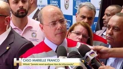 Witzel fala em evento sobre declarações feitas por Bolsonaro