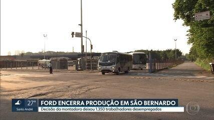 Ford encerra produção na fábrica de São Bernardo do Campo