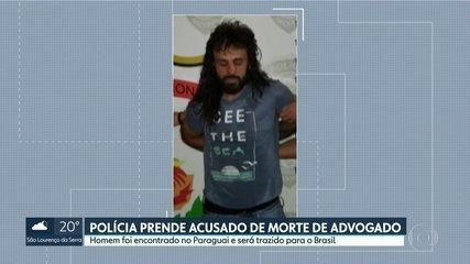Polícia prende acusado de matar advogado na Zona Sul da capital