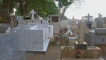 Sistema de digitalização de túmulos é implantados em cemitério de Itapetininga