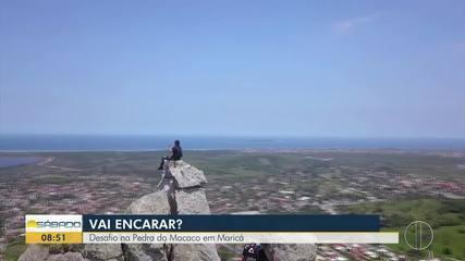 'Vai Encarar?' mostra desafio de trilha na Pedra do Macaco e Gruta do Spar, em Maricá