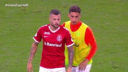 Maurício Saraiva e Diogo Olivier comentam o cartão amarelo que Nico López tomou