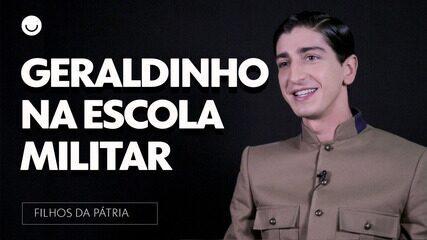 Johnny Massaro comenta a entrada de Geraldinho na Escola Militar