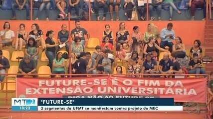 Alunos, professores e servidores da UFMT se posicionam contrários ao Future-se