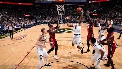 Melhores momentos de Denver Nuggets 109 x 89 Miami Heat pela NBA