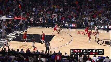 Melhores momentos: Los Angeles Clippers 107 x 101 Portland Trail Blazers