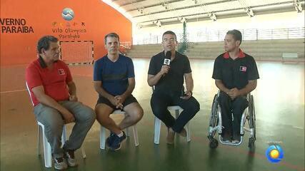 Hildebrando Neto fala ao vivo sobre a abertura dos Jogos Paralímpicos da Paraíba