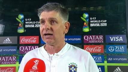 """Dalla Déa comemora a vitória do Brasil e diz """"Tenho que parabenizar toda a equipe"""""""
