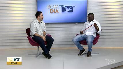 Medalhista olímpico maranhense é entrevistado no Bom Dia Mirante