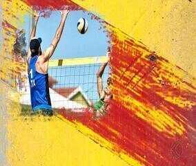 Professor Olímpico destaca o vôlei de praia, o esporte que é a cara do verão brasileiro