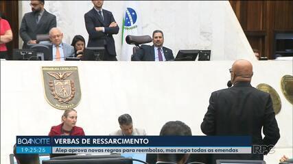 Assembleia Legislativa aprova novas regras de reembolso para deputados mas nega emendas