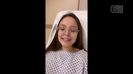 Larissa Manoela passa por cirurgia para retirada de pedra na vesícula
