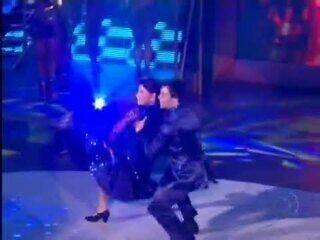 Relembre Danniel Navarro com Roberta Miranda no 'Dança dos Famosos 2011'