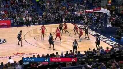Melhores momentos: New Orleans Pelicans 108 x 97 Cleveland Cavaliers, pela NBA