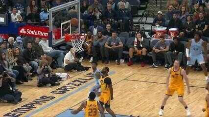 Melhores momentos: Memphis Grizzlies 107 X 106 Utah Jazz, pela NBA