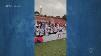 Santos supera o Palmeiras e fatura o título do Campeonato Paulista Sub-11