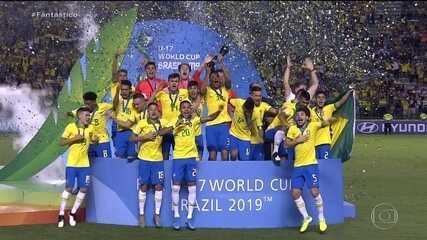 Seleção brasileira Sub-17 é tetracampeã mundial
